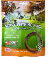 Nbone 113024 Puppy Teething Rings In Pumpkin Pack - 3