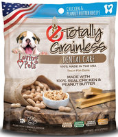 Loving Pets Totally Grainless Dental Care Chicken & Peanut Butter, Small 6oz