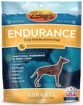 Zukes Enhance Endurance Chews Peanut Butter Formula 5oz