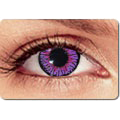 Cosmetic Impressions Violet Contacts
