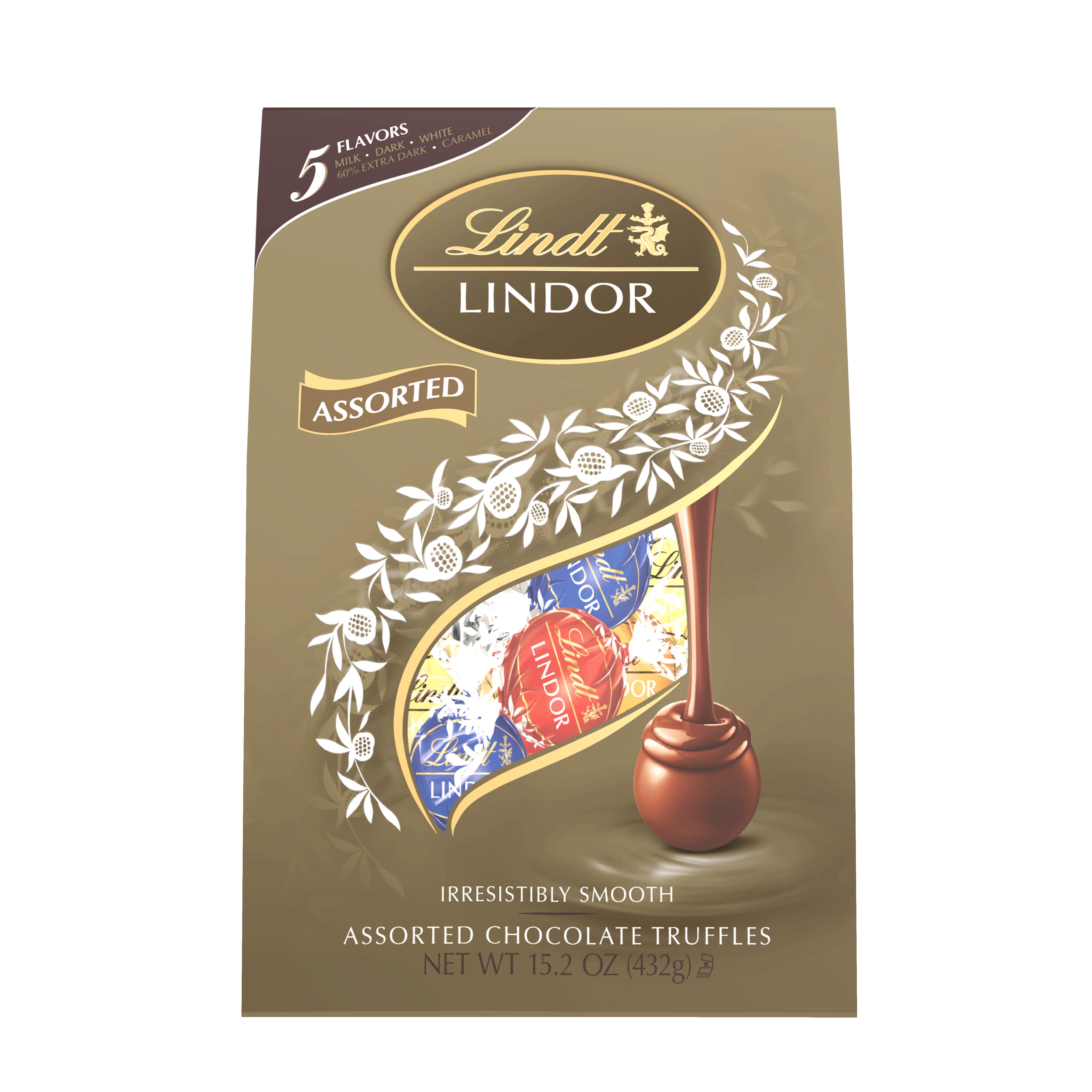 Lindt Lindor Assorted Chocolate Truffles 15.2 oz