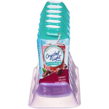 Crystal Light Liquid Cherry Splash with Caffeine Drink Mix