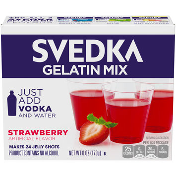 Svedka Strawberry Gelatin Mix