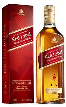 JOHNNIE WALKER RED LABEL SCOTCH WHISKY - 1.75 Liter