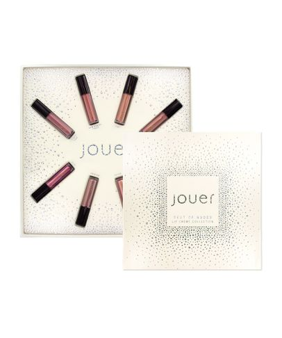 Jouer Best Of Nudes Mini Long-Wear Lip Creme Liquid Lipstick Collection - No Color