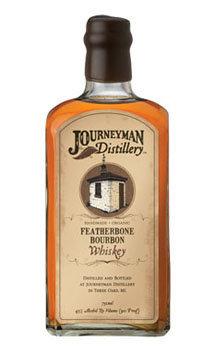 Journeyman Distillery Whiskey Featherbone Bourbon