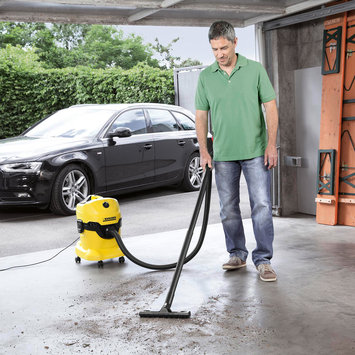 Karcher Multi-Purpose Wet Dry Vacuum Cleaner with 1800W Motor - WD4