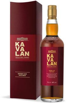Kavalan Whisky Single Malt Sherry Oak