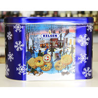 Kelsen Danish Butter Cookies 5 lbs. Tin