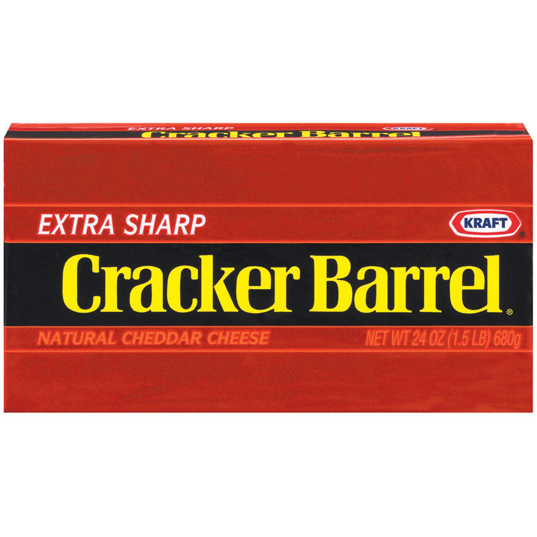 Cracker Barrel Cheddar Extra Sharp Cheese