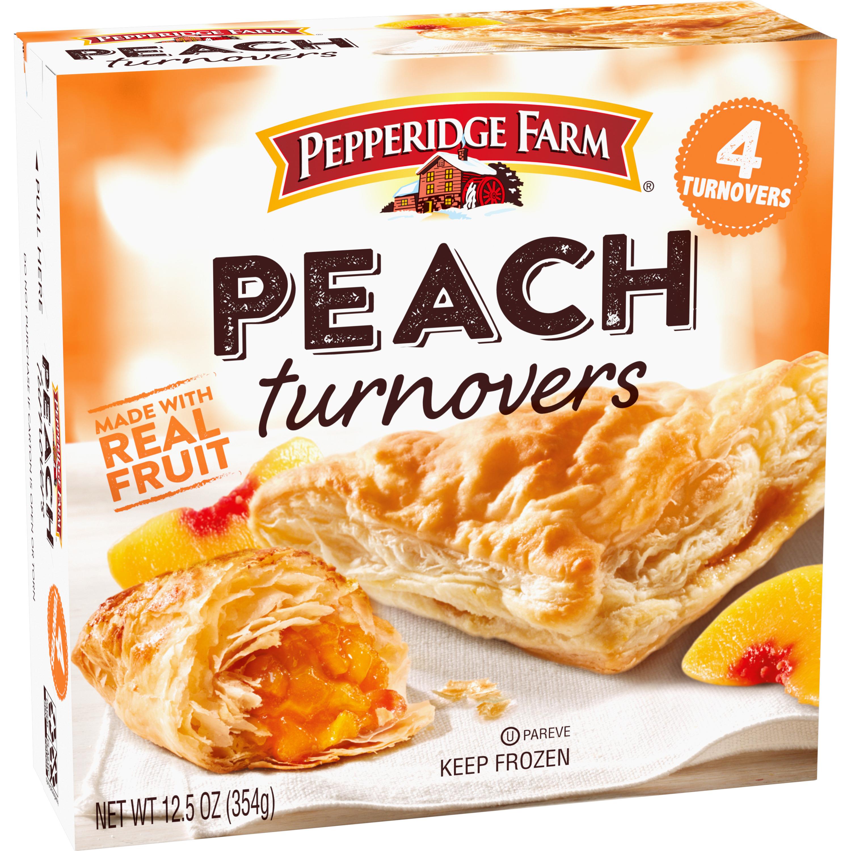 Pepperidge Farm® Peach Turnovers Pastries, 4-Count 12.5 oz. Box