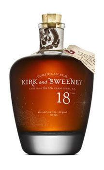 Kirk and Sweeney Rum 18 Year