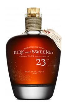 Kirk and Sweeney Rum 23 Year