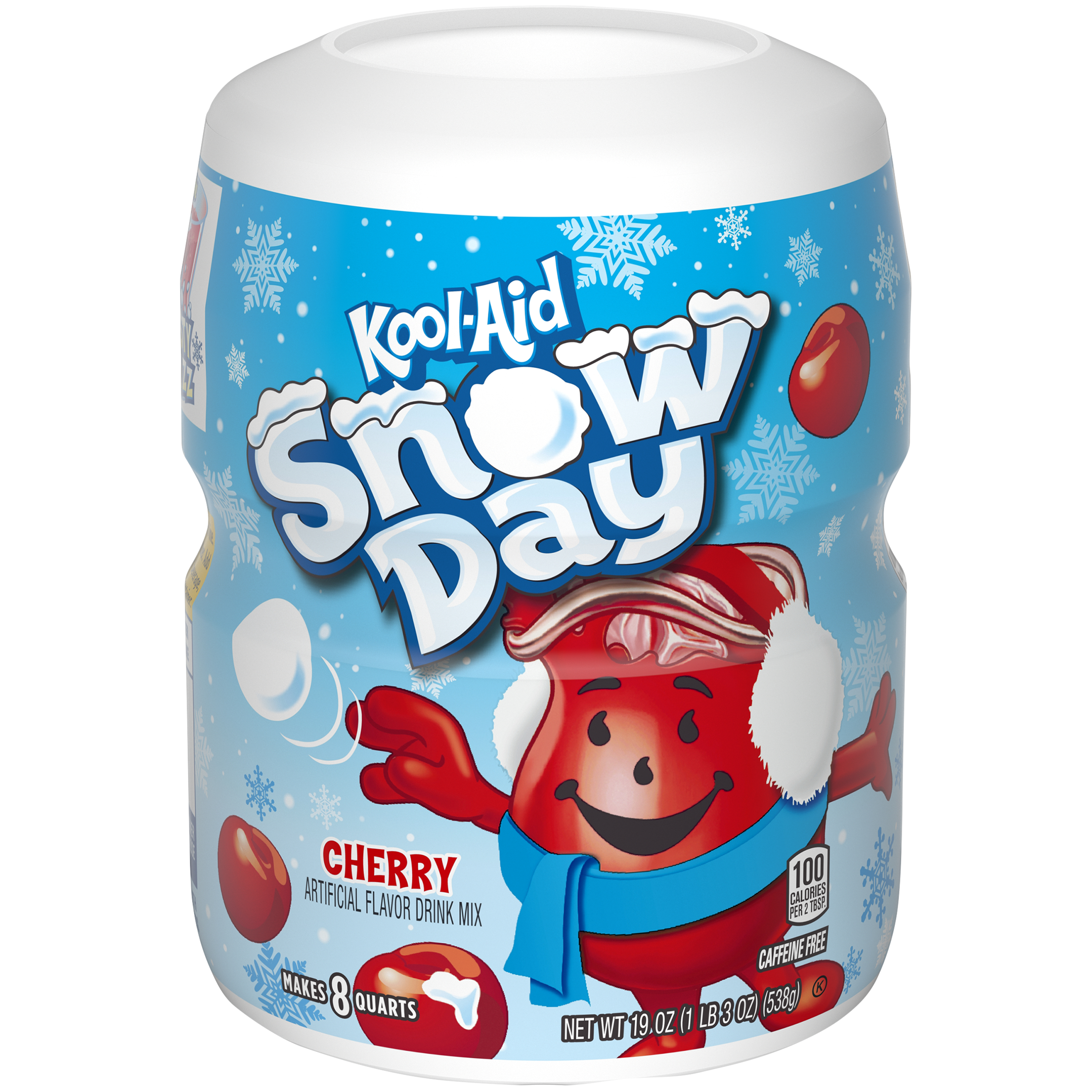 Kool-Aid Sugar Sweetened Cherry Powdered Soft Drink