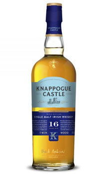 Knappogue Castle Irish Whisky Single Malt 16 Year Twin Wood