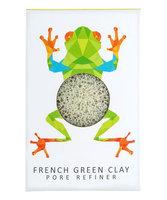 Konjac Sponge Co Konjac Mini Rainforest Pore Refiner French Green Clay - Tree Frog