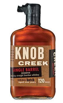 Knob Creek Bourbon Single Barrel Reserve 9 Year