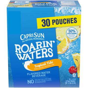 Capri Sun Roarin' Waters Tropical Fruit Flavored Juice Pouches