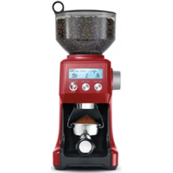 Breville BCG820BCRNXL The Smart Grinder Pro Coffee Bean Grinder, Cranberry Red