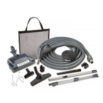 NuTone Central Systems Carpet and Bare Floor Electric Direct Connect Central Vacuum System Attachment Set Metallics CS600