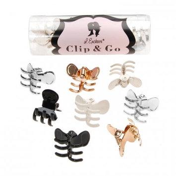L. Erickson Mini Metal Jaw Clip & Go 8-Pack