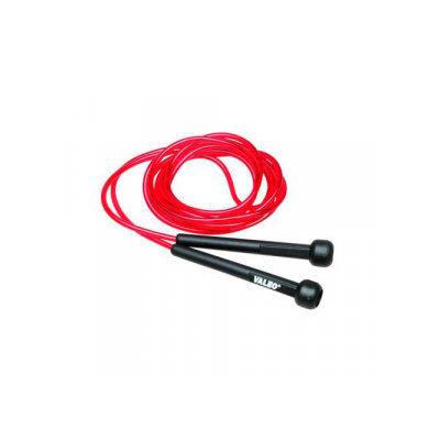 Valeo Neon Jump Rope-Red