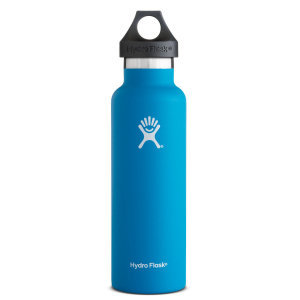 Hydro Flask 21oz Standard Mouth Vacuum Insulated Stainless Steel Water Bottle w/Loop Cap