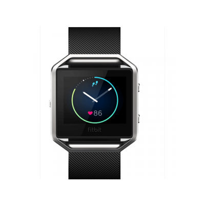 Fitbit - Blaze Smart Fitness Watch (large) - Black