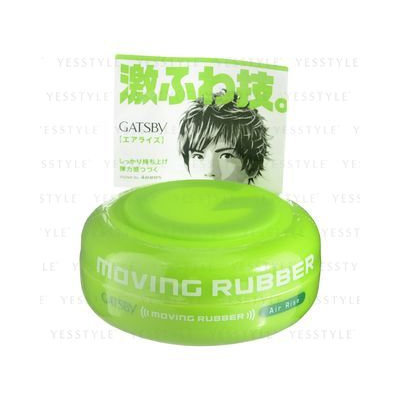 Mandom - Gatsby Moving Rubber (Air Rise Green) 80g