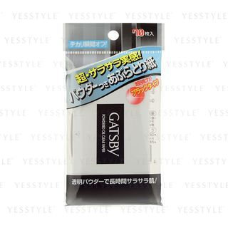 Mandom - Gatsby Powdered Oil Clear Paper 70 sheets