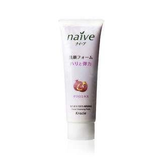Kracie - Kracie Naive Facial Cleansing Foam (Pomegranate) 110g