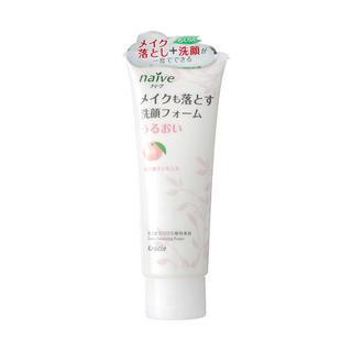 Kracie - Kracie Naive Foaming Facial Cleanser (Peach) 150g