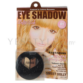 Koji Dolly Wink Eye Shadow 01 Brown