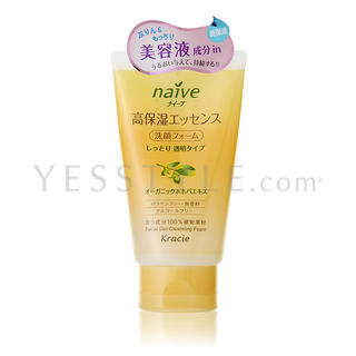 Kracie - Kracie Naïve Facial Gel Cleansing Foam (Olive) 100g