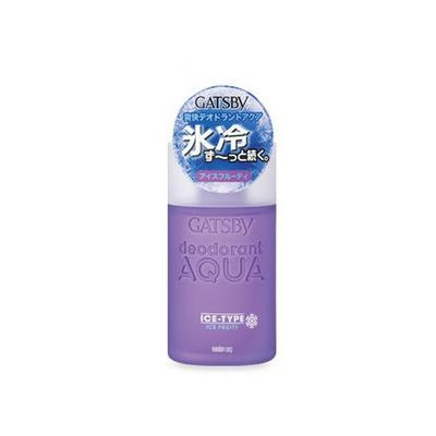 Mandom - Gatsby Deodorant Aqua Ice-Type Ice Fruity (Purple) 160ml
