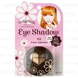 Koji Dolly Wink Eye Shadow 02 Pink Brown