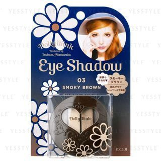Koji Dolly Wink Eye Shadow 03 Smoky Brown