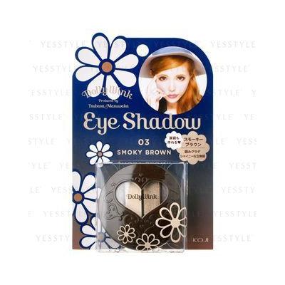 Koji Dolly Wink Eye Shadow 03 Smoky Brown
