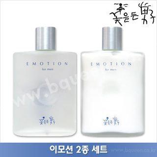 The Flower Men Emotion Set: Skin 160ml + Emulsion 160ml 2pcs
