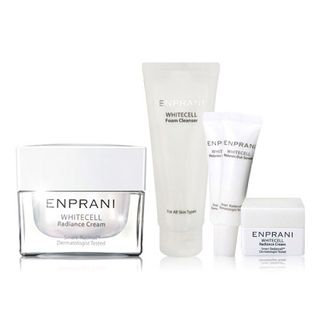Enprani White Cell Set: Raidance Cream 50ml + Foam Cleanser + Melanin Out Serum X 2 + Cream 5 pcs