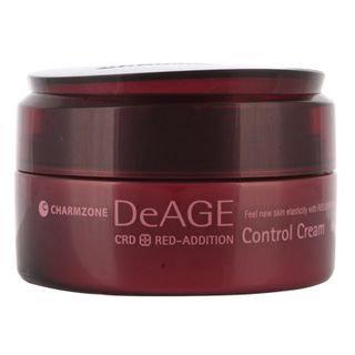 Charm Zone DeAGE Red Addition Control Massage Cream 180ml 180ml