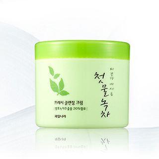 Kwailnara The First Greentea Fresh Cleansing Cream 300g 300g