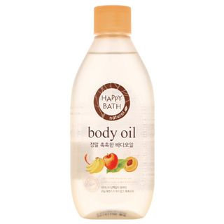 Happy Bath Natural Real Moisture Body Oil 250ml 250ml