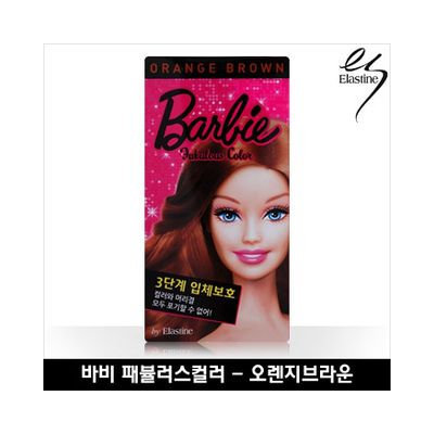 Elastine Barbie Fabulous Color Orange Brown