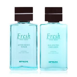 Ipkn Man Fresh Set: After Shave Toner 135ml + Balancing Emulsion 135ml + Toner 30ml + Emulsion 30ml 4pcs