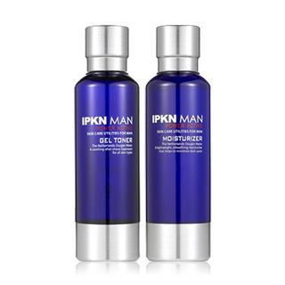 Ipkn Man Power Active Set: Gel Toner 180ml + Moisturizer 180ml 2pcs