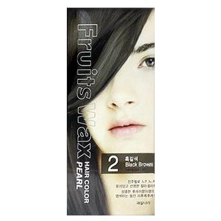 Kwailnara Fruits Wax Hair Color Pearl No. 02