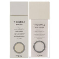 Vonin The Style White Set: Skin 135ml + Essence 80ml + Skin 35ml + Sun Cream 13ml 4pcs
