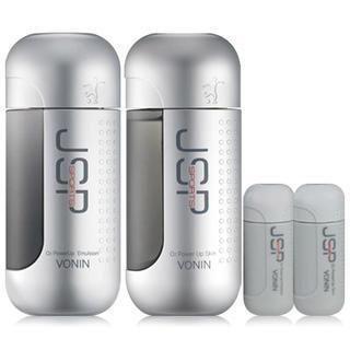 Vonin JSP Sports O2 Power Up Set: Skin 140ml + Emulsion 140ml + Skin 25ml + Emulsion 25ml 4pcs