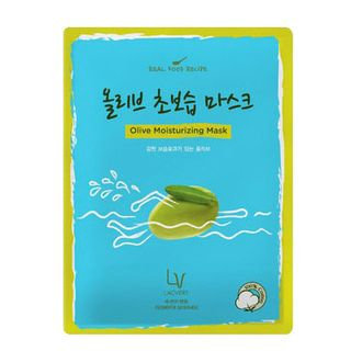 Lacvert LV Real Food Recipe Sheet Mask Olive Hydration Mask